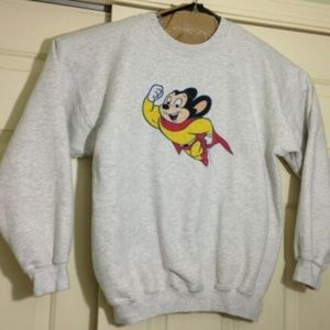 Other - RARE Vintage 90s Mighty Mouse Sweatshirt Crewneck